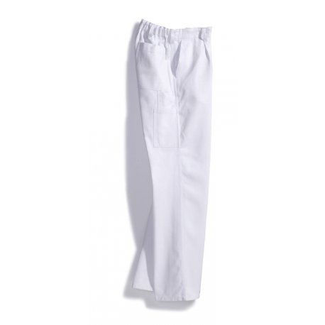 Pantalon de travail blanc pour peintre