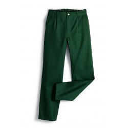 Pantalon de travail vert 100% coton -BP-