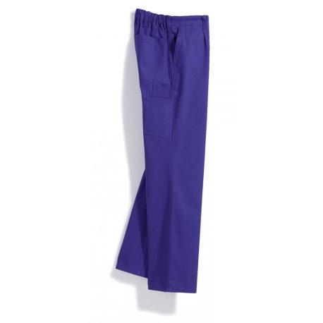 Pantalon de travail bleu roi 100% coton-BP-