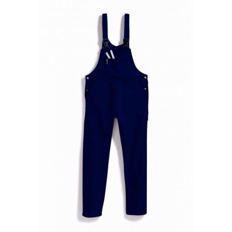Salopette de travail Bleu 100% coton lavage 60°-BP-