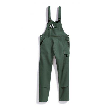 Cotte de travail vert 100% coton lavage 60°-BP-