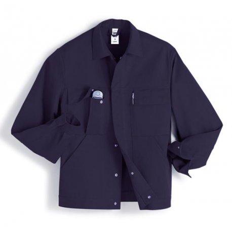 Veste de travail Marine 100% coton avec poches-BP-