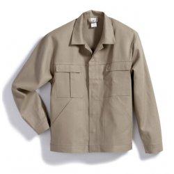 Veste de travail beige 100% coton avec poches-BP-