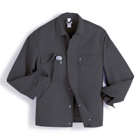 Veste de travail gris 100% cotonavec poches-BP-