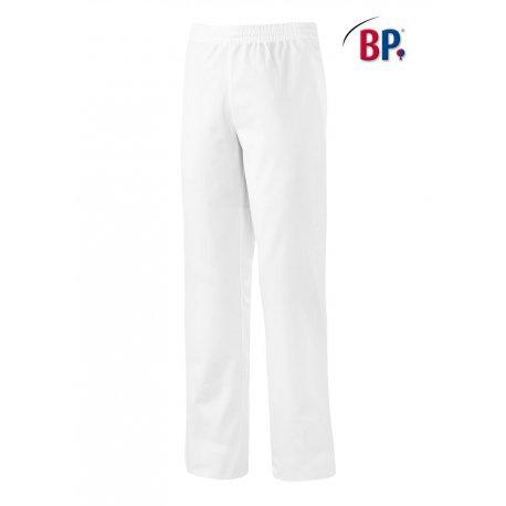 Pantalon médical mixte polycoton taille élastiqué-BP-