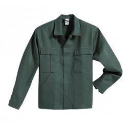 Veste de travail vert 100% coton avec poches-BP-