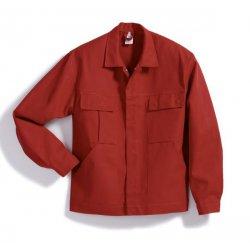 Veste de travail 100% coton rouge