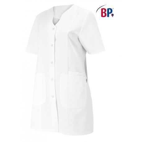 Blouse médicale blanche polycoton comfortec-BP-