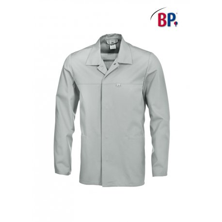 Veste de travail 65% coton 35% polyester gris clair-BP-