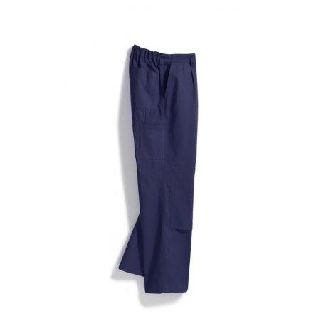 pantalon de travail 100 coton option genouill res bleu fonc bp acheter en ligne. Black Bedroom Furniture Sets. Home Design Ideas