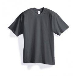 T-shirt 100% coton gris foncé