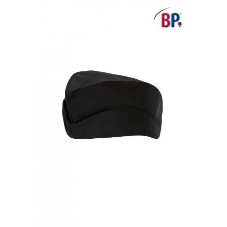 Calot de cuisine noir polycoton réglable -BP-