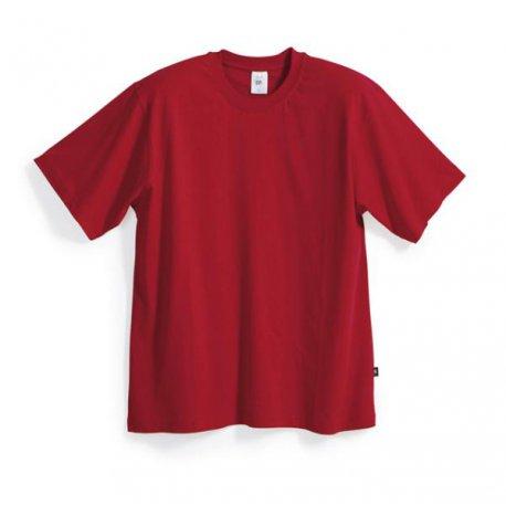 T-shirt 100% coton rouge-BP-