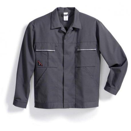 Veste de travail gris polycoton lègère-BP-