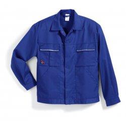 Veste de travail bleu roi polycoton légère-BP-