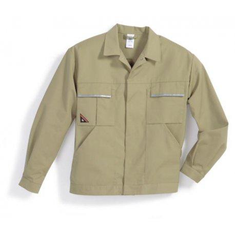 Veste de travail 65% polyester 35% coton sable