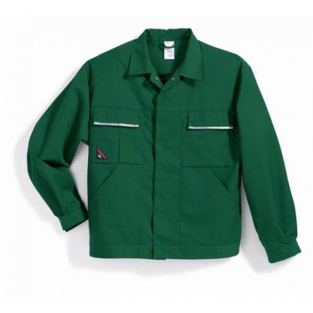 Veste de travail vert polycoton légère-BP-