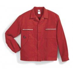Veste de travail 65% polyester 35% coton rouge