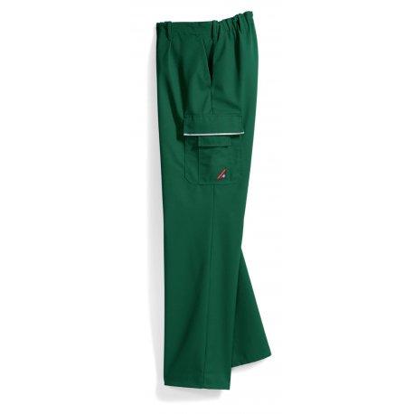 Pantalon de travail vert polycoton poches côtés-BP-