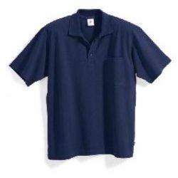Polo 100% coton bleu foncé
