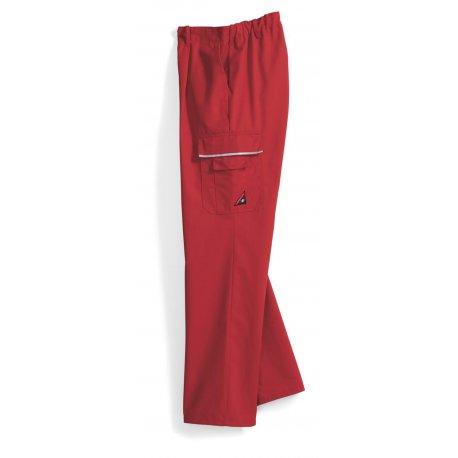 Pantalon de travail rouge