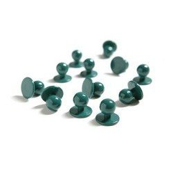 Boutons boules verts