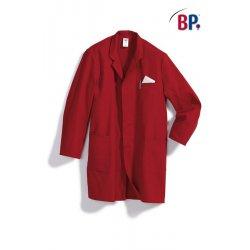 Blouse de travail 100 % coton Rouge BP