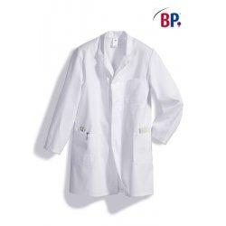 Blouse de travail blanche 100 % coton-BP-