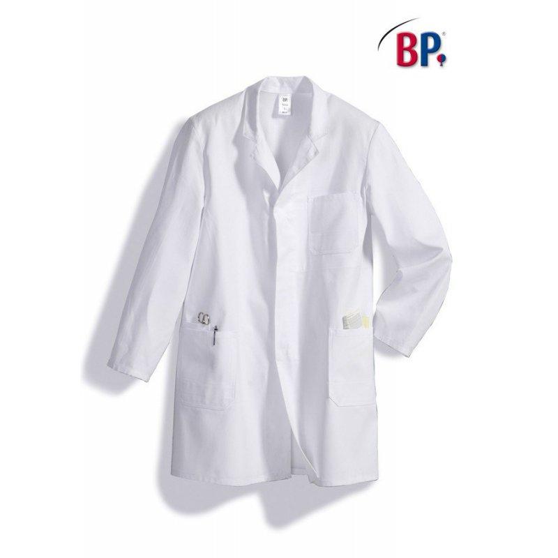 Blouse de travail 100 % coton blanche BP
