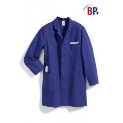 Blouse de travail 100 % coton bleu roi BP