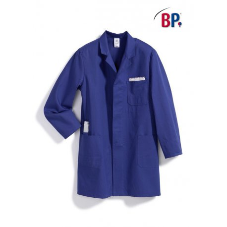 Blouse de travail bleu roi 100 % coton-BP-