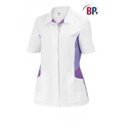 Tunique médicale 50 % polyester et 50 % coton BP