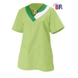 Tunique médicale femme verte coupe cintrée polycoton-BP-