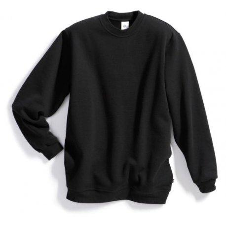 Sweat-shirt 55% coton 45% polyester noir- BP-