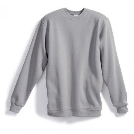 Sweat-shirt 55% coton 45% polyester gris clair- BP-