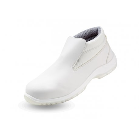 Chaussures de cuisine blanc Haute avec coque -NORWAYS-