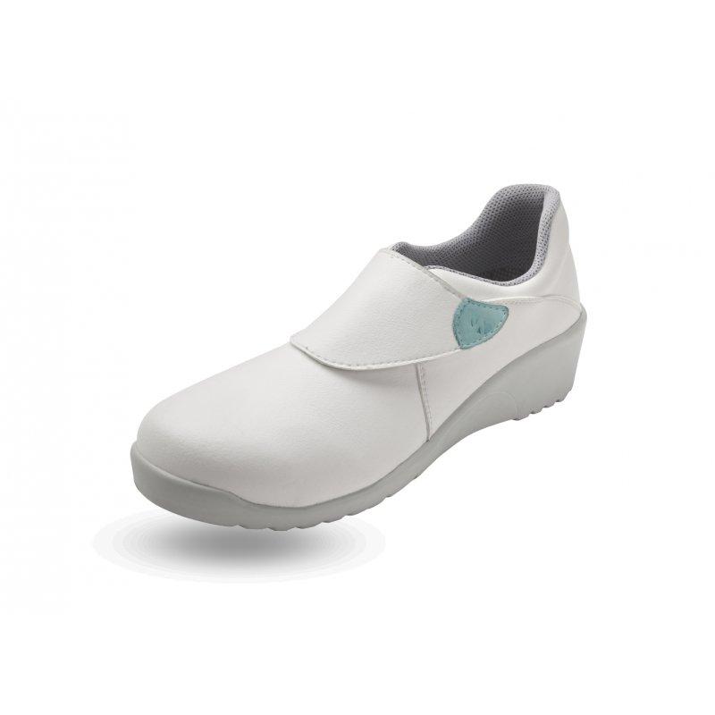 Chaussure de cuisine pour femme mod le sophie en blanc - Chaussure de securite blanche ...