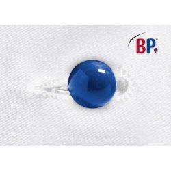 Boutons boules bleus