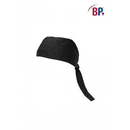 Bandana de cuisine noir -BP-