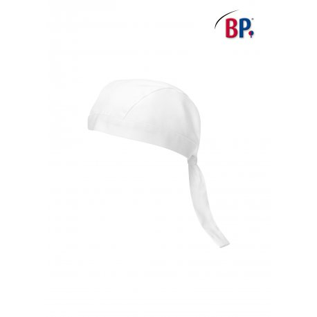 Bandana de cuisine blanc -BP-