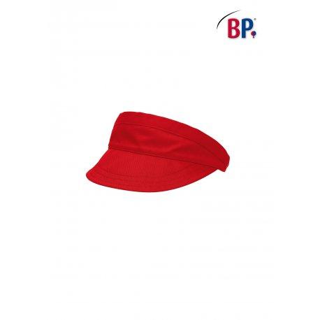 Visière de restauration rouge réglable -BP-