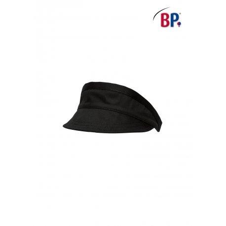 Visière de restauration noire réglable -BP-