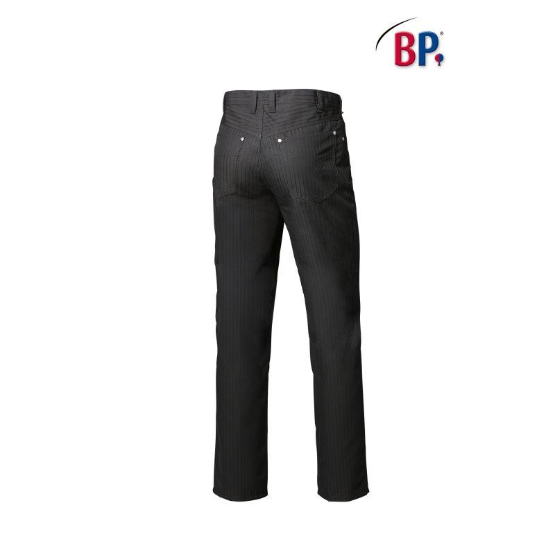 pantalon de service noir pour homme bp. Black Bedroom Furniture Sets. Home Design Ideas