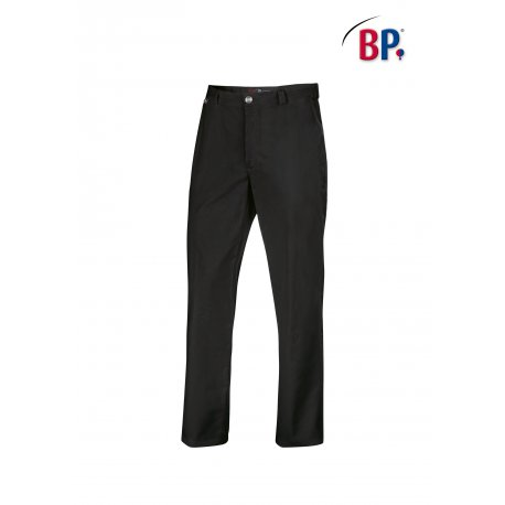 Pantalon de cuisine noir du 38 au 64 for Pantalon cuisine noir