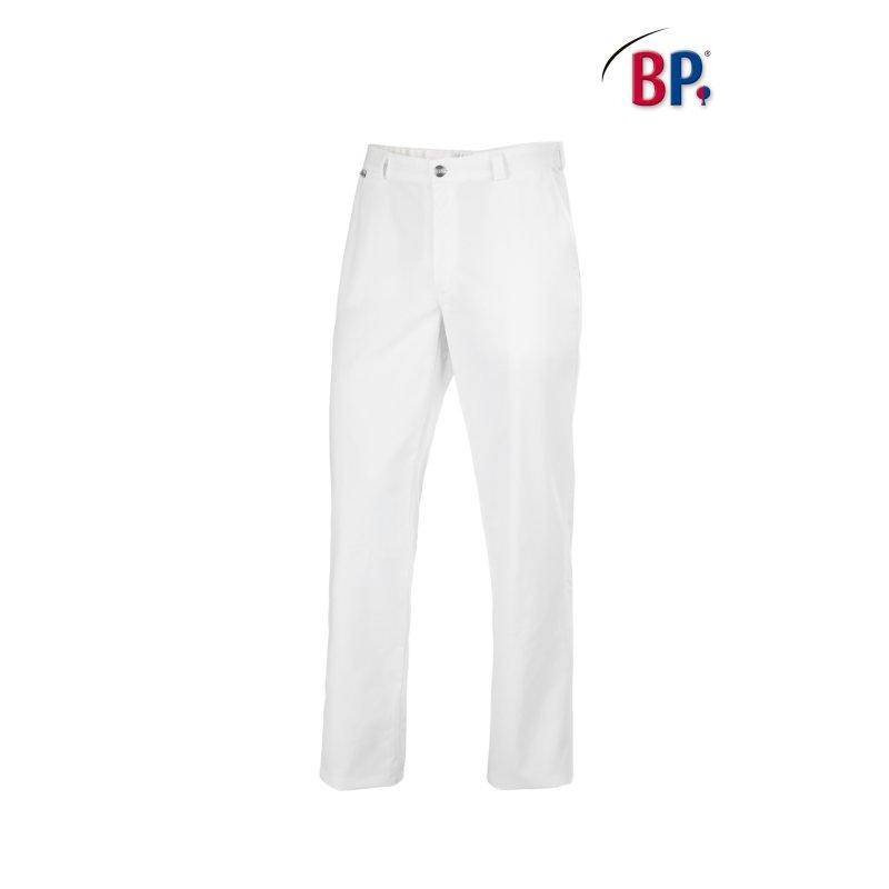 Pantalon de service blanc unisexe