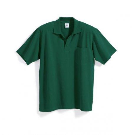 Polo 100% coton vert -BP-