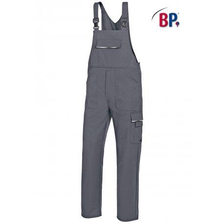 Salopette de travail grise polycoton avec poches-BP-