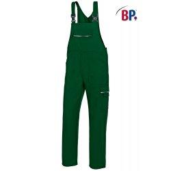Salopette de travail verte polycoton avec poches-BP-