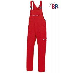 Salopette de travail rouge polycoton avec poches-BP-