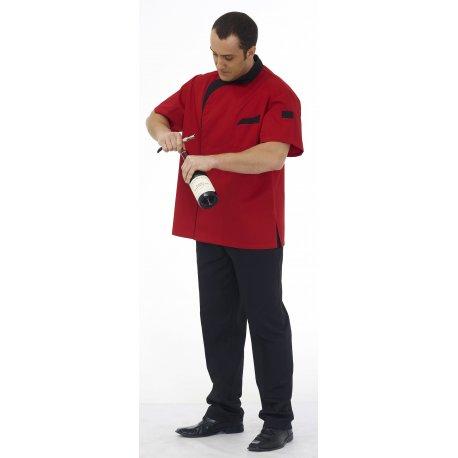 Veste de Cuisine Homme couleur Rouille -Remi-